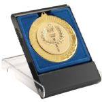 Medal Box MB11B Blue 50/60/70mm Recess